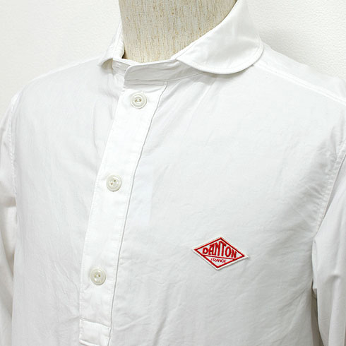 DANTON<br>【ダントン】<br>丸襟オックスフォード プルオーバーシャツ (メンズ・レディース)<BR>【JD-3568 YOX/JD-3564 YOX】