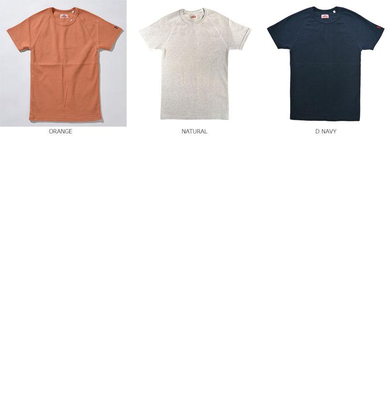 HOLLYWOOD RANCH MARKET<br>ストレッチフライス クルーネック ショートスリーブ Tシャツ 【700056031】<br>ハリウッド ランチ マーケット C/N S/S