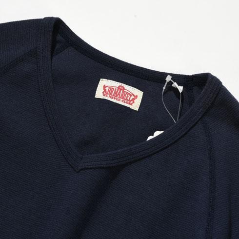 HOLLYWOOD RANCH MARKET<br>ストレッチフライス Vネック ハーフスリーブ Tシャツ 【700066129】<br>ハリウッド ランチ マーケット V/N H/S