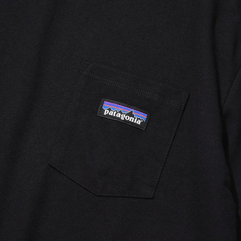patagonia<br>Ms P-6 Label Pocket  Responsibili-Tee  【37406】<br>パタゴニア メンズ P-6ラベル ポケット レスポンシビリティー