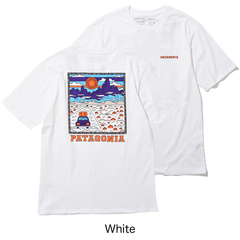 patagonia<br>Ms Summit Road Organic T-Shirt  【38537】<br>パタゴニア メンズ サミット ロード オーガニック Tシャツ