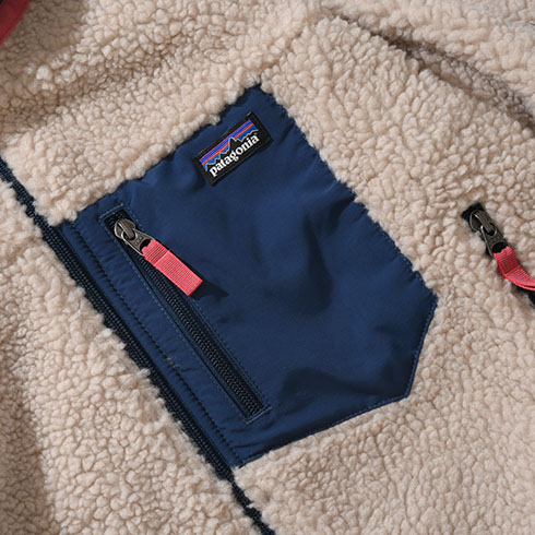 patagonia<br>Ks Classic Retro-X Jacket 【65625】<br>パタゴニア キッズ クラシック レトロX ジャケット