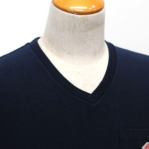 【10%OFF】 DANTON<br>【ダントン】<br>半袖Vネック ポケットTシャツ (メンズ・レディース)<br>【JD-9088】