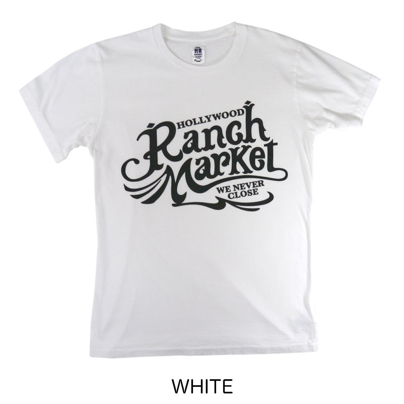 HOLLYWOOD RANCH MARKET<br>オールドスクエアロゴ Tシャツ  【700086448】<br>ハリウッド ランチ マーケット