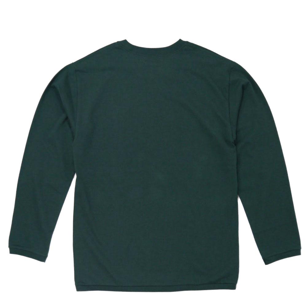 HOLLYWOOD RANCH MARKET<br>Hエンブロイダリー ナローリブ ロングスリーブ Tシャツ  【700083751】<br>ハリウッド ランチ マーケット