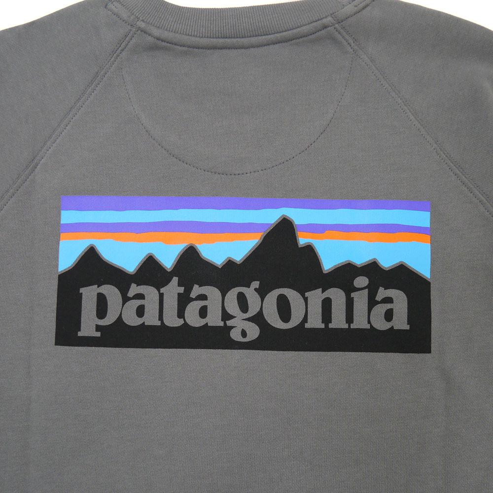 patagonia<br>Ms P-6 Logo Organic Crew Sweatshirt  【39603】<br>パタゴニア P-6 ロゴ オーガニック クルー スウェットシャツ
