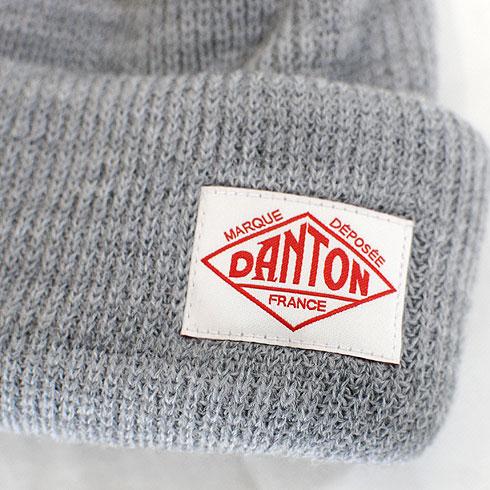 【20%OFF】 DANTON<br>【ダントン】<br>ウールリブニットキャップ Unisex<br>【JD-7165 BLL】