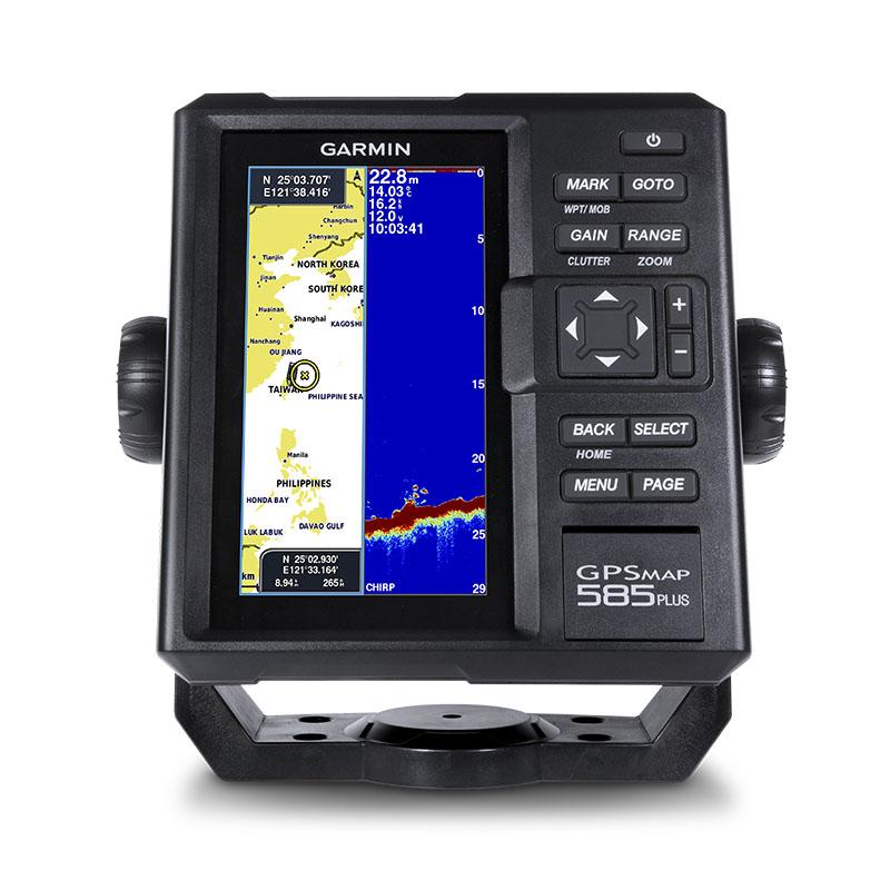 GPSMAP585Plus+GT10HN-IF振動子ポータブルアイスフィッシングキット