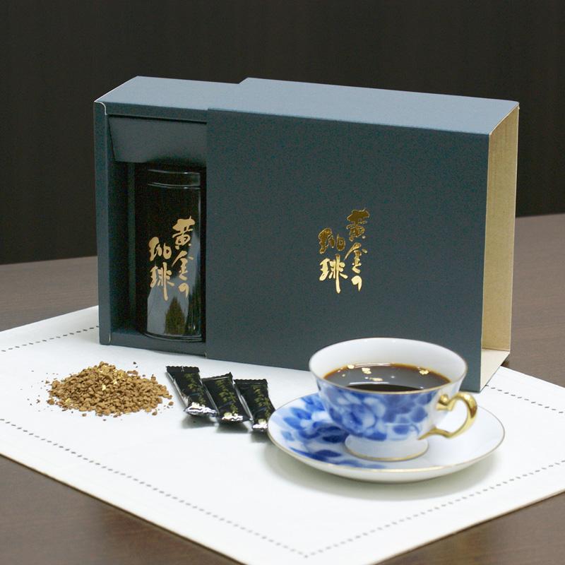 金箔入りインスタントコーヒーギフト スティックタイプ KSC−30