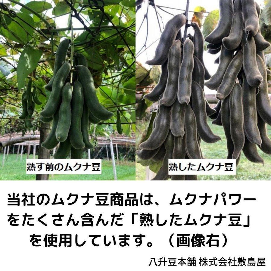 天然そのまま黒生ムクナ豆自然食サプリ 300g入