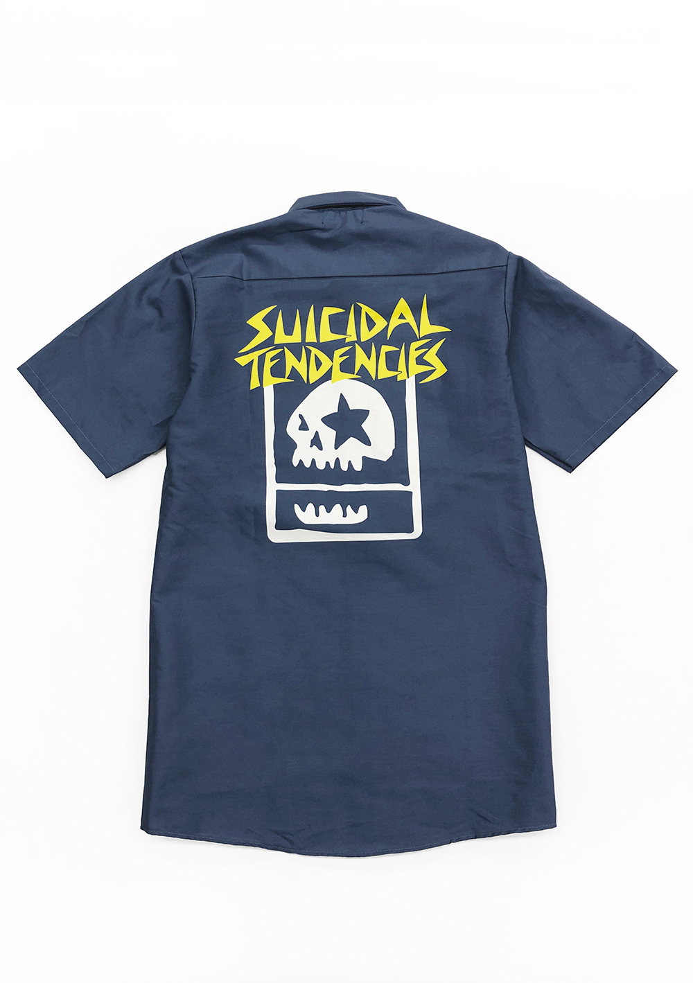 "[SOLD OUT] SUICIDAL TENDENCIES x MxMxM ""MAGICAL TENDENCIES"" WORK SHIRT"