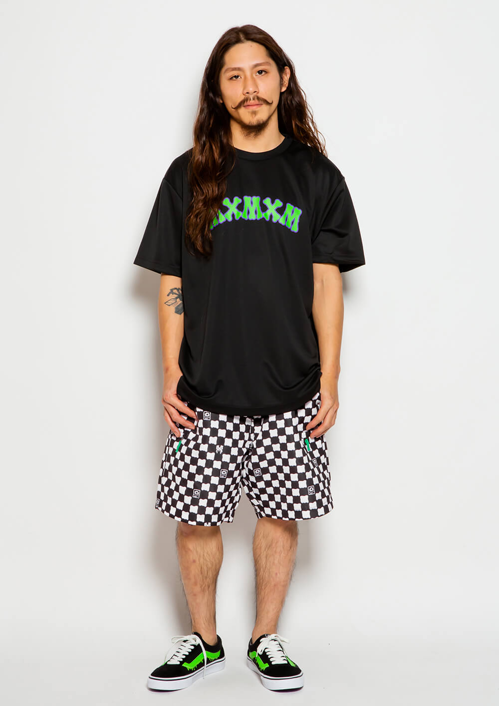 [予約・5月末納期] MxMxM CHECKER SHORTS