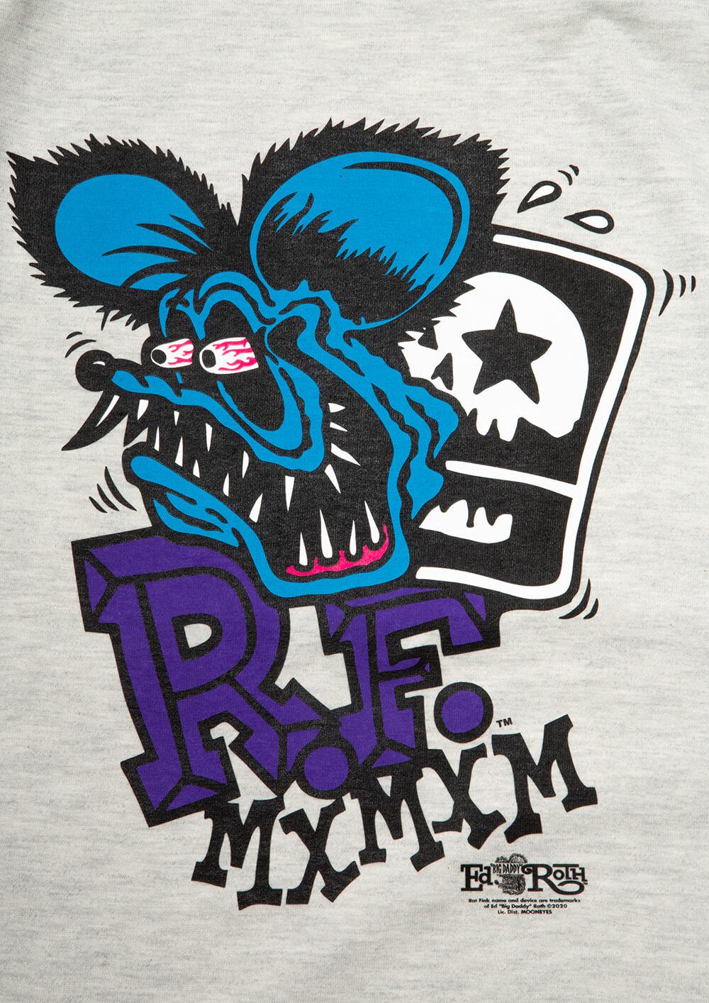 "[予約・5月末納期] RATFINK x MxMxM ""MAGICAL MOSH RATFINK"" TEE"