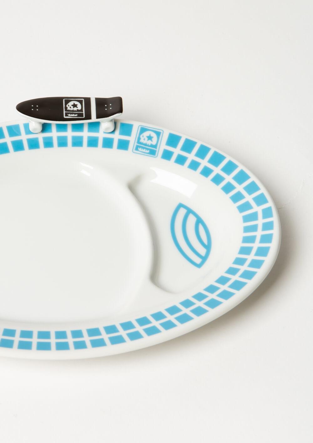 [予約・6月末納期] MY POOL SET (餃子皿+箸置き)