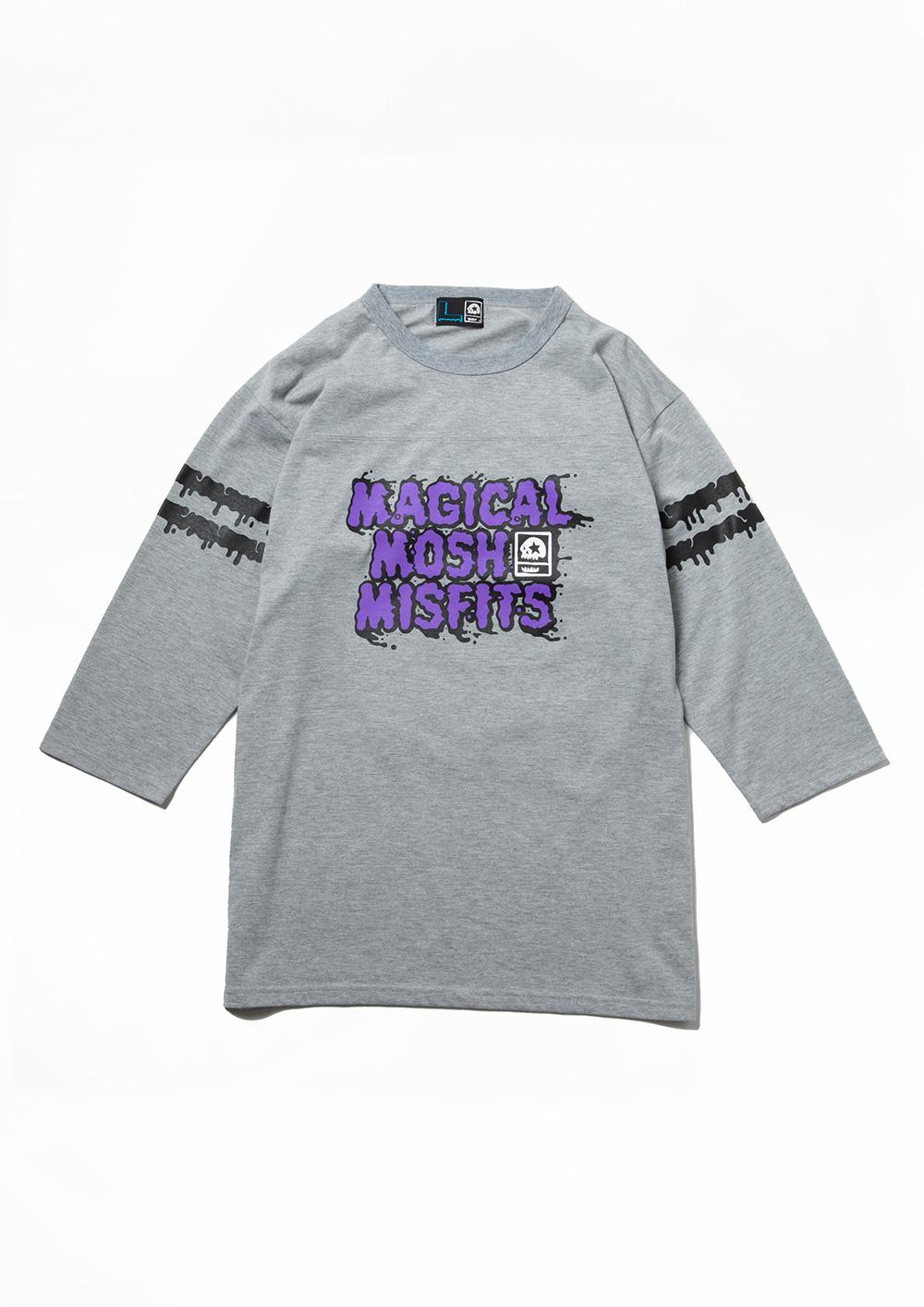 MxMxM どろどろ FOOTBALLシャツ