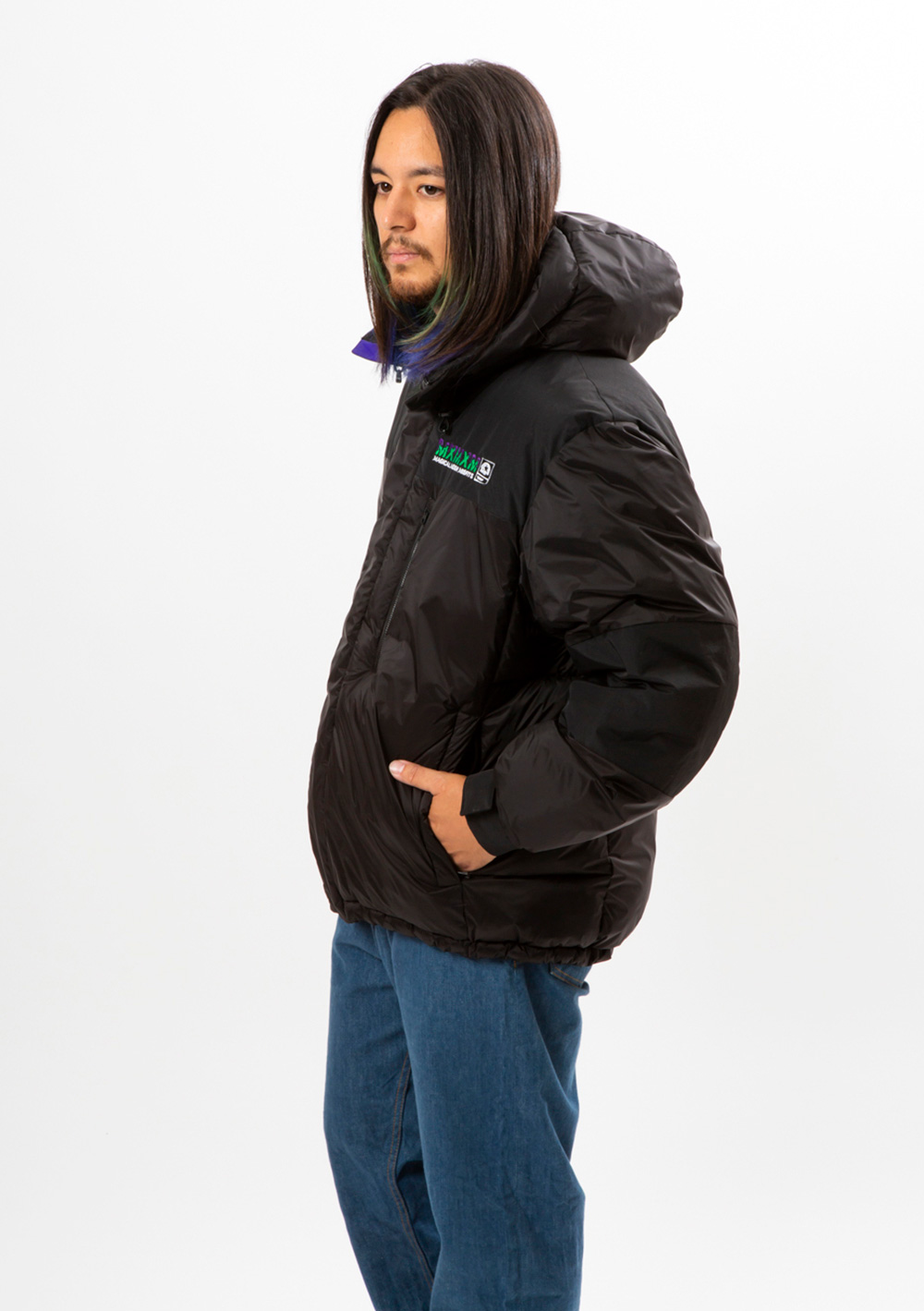 MxMxM HOODED PUFFY JKT