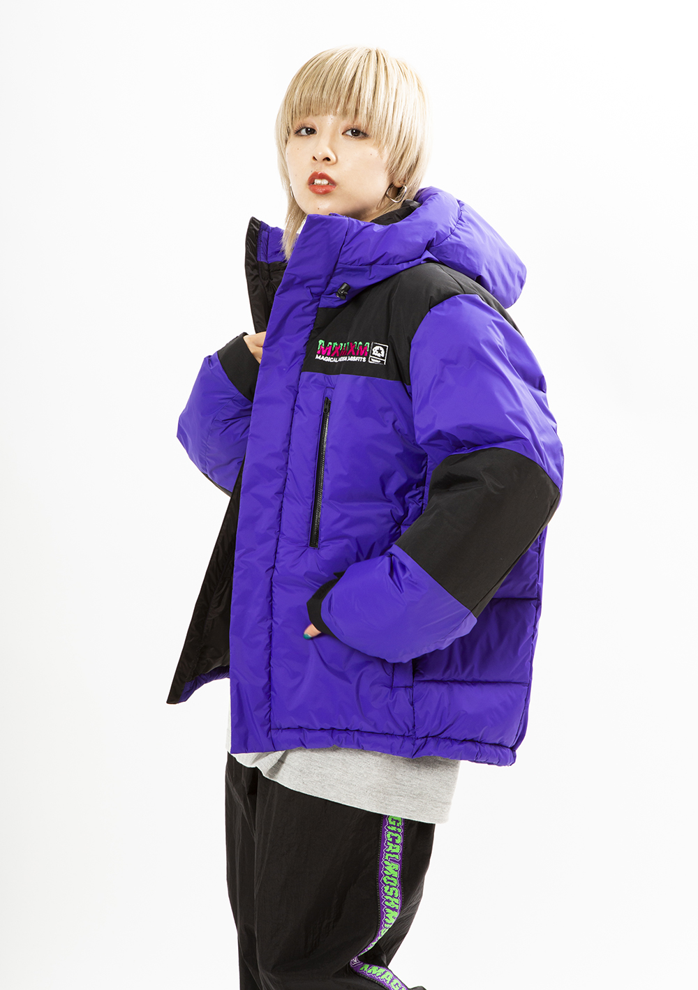 [SOLD OUT]MxMxM HOODED PUFFY JKT