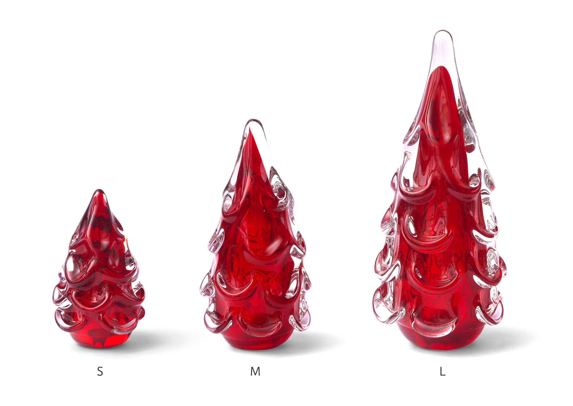 GLASS TREE / Red(M)
