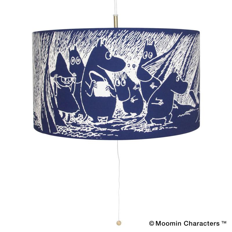 MOOMIN×amabro AIZOME -PENDANT LIGHT- / Cave