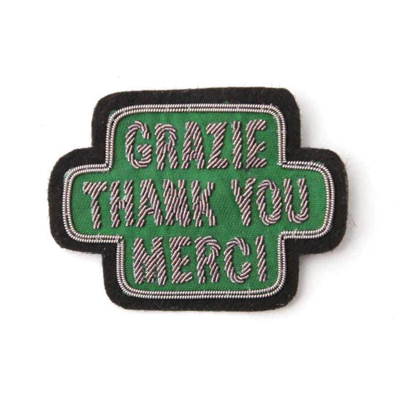 EMBLEM BADGE / THANK YOU (Green)