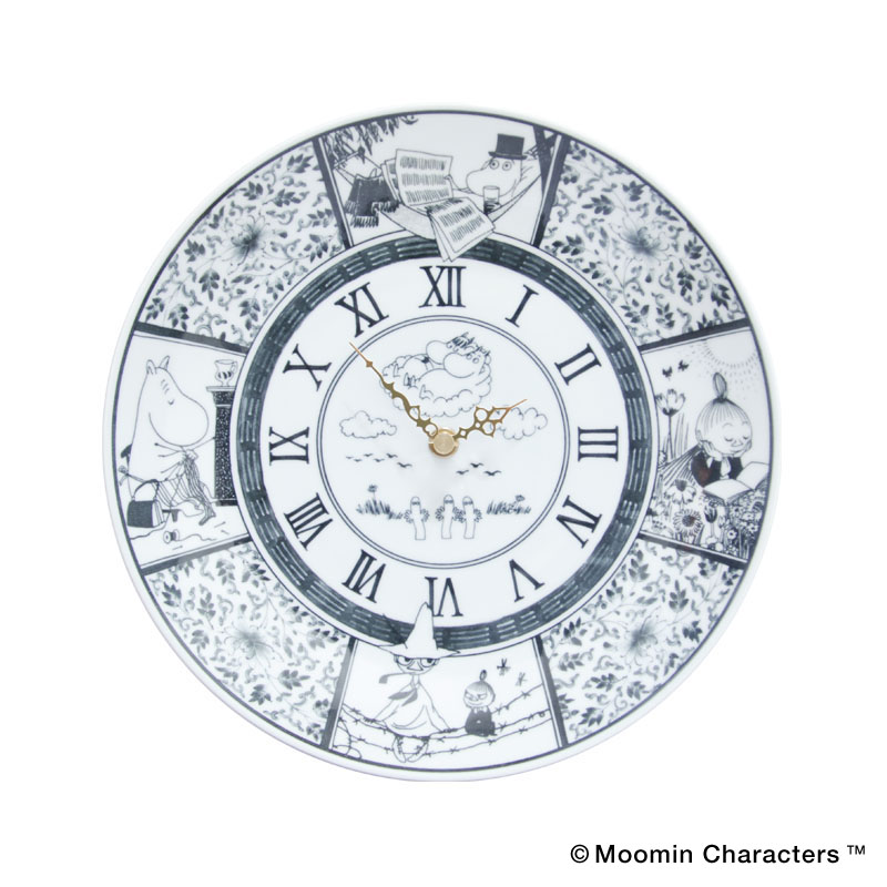 MOOMIN×amabro SOMETSUKE -CLOCK- / TIME GOES ON(Black)