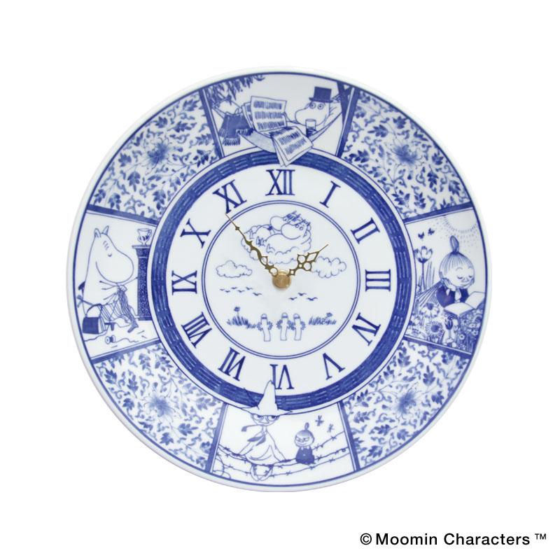 MOOMIN×amabro SOMETSUKE -CLOCK- / TIME GOES ON(Blue)