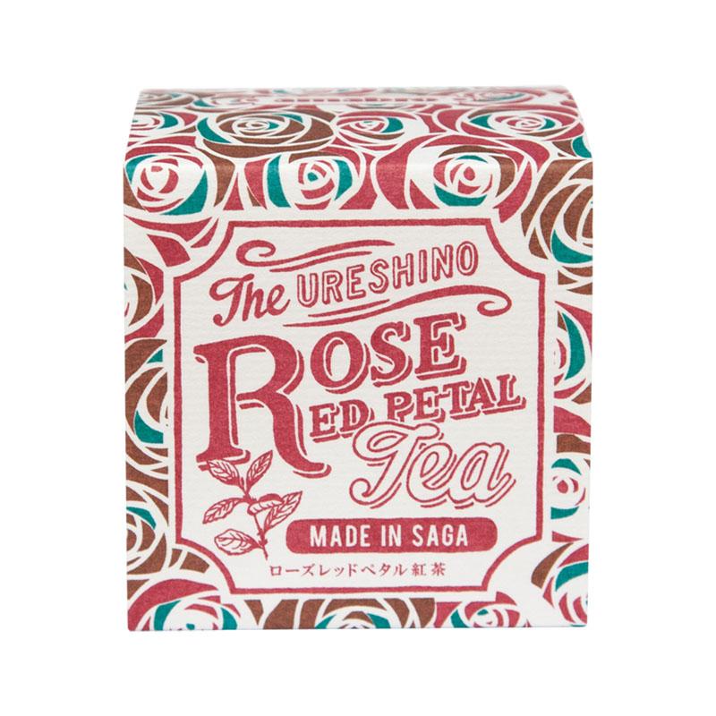 URESHINO ROSE RED PETAL TEA