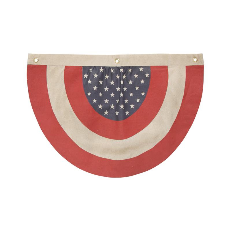 VINTAGE FLAGS-semicircle
