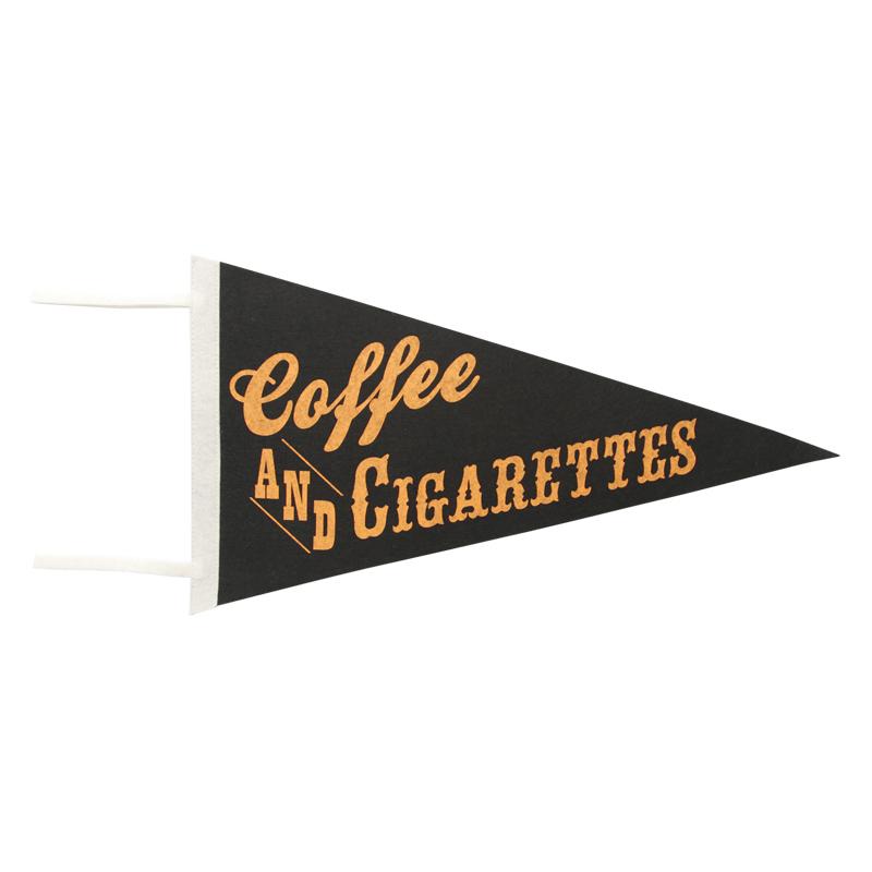 PENNANT / Coffee&Cigarettes