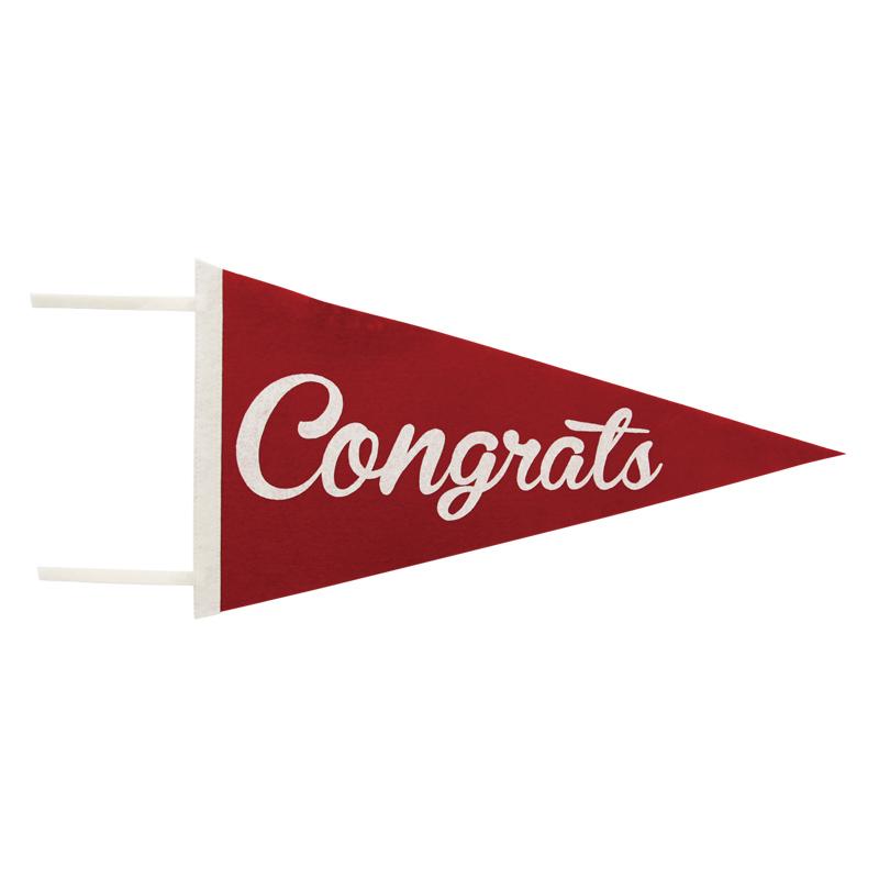 PENNANT / Congrats