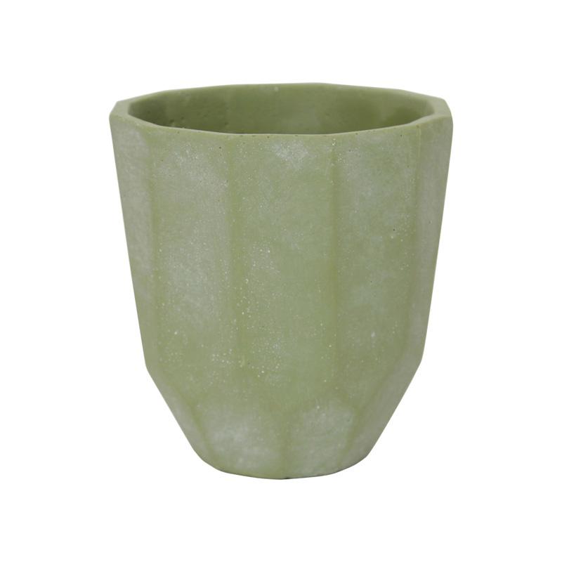 CEMENT PLANTER -POLYGON- / Green(M)