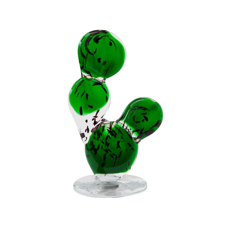 CACTUS GLASS ORNAMENT / Round Fan(M)
