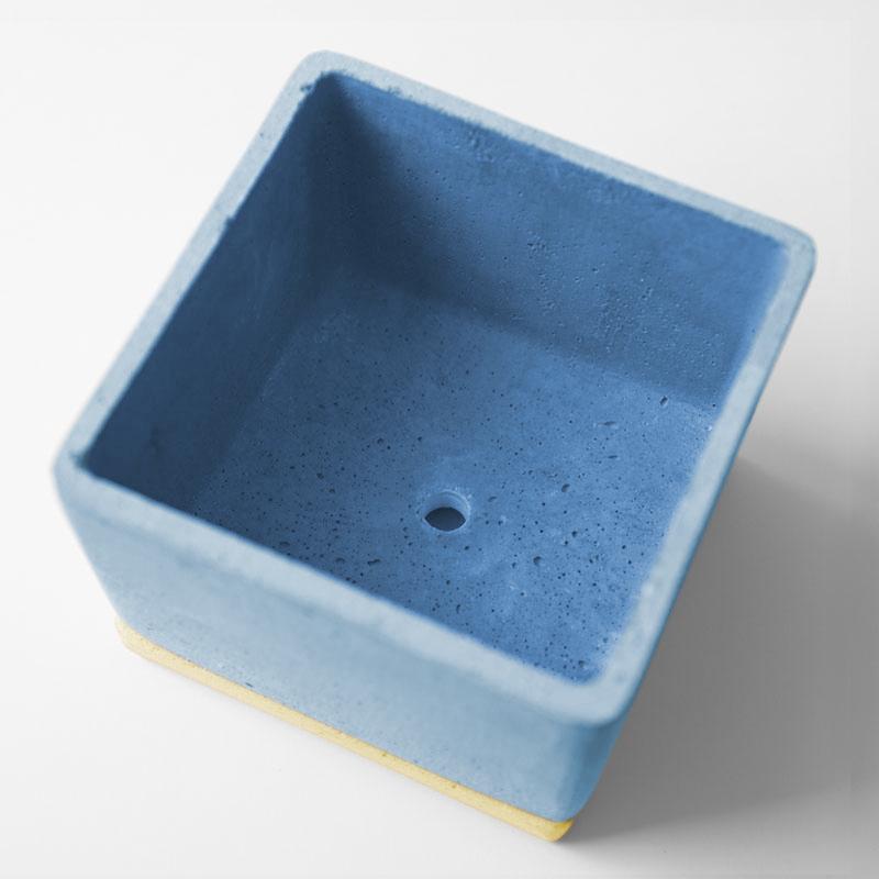 POLYSTONE POT / Blue