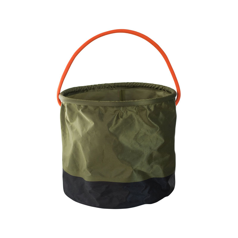 FOLDING BUCKET /  Khaki×Black