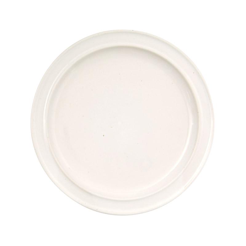 REGULAR PLATE / 白濁釉