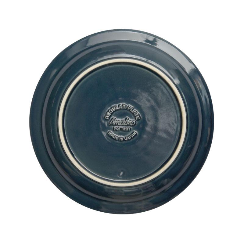 REGULAR PLATE / 瑠璃釉