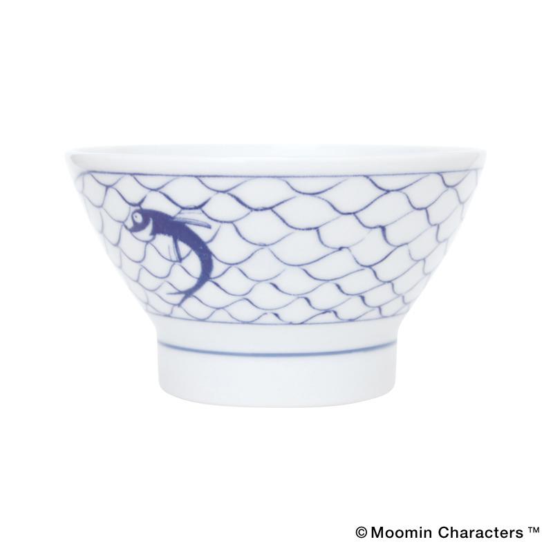 MOOMIN×amabro SOMETSUKE -CHAWAN- / Fishing