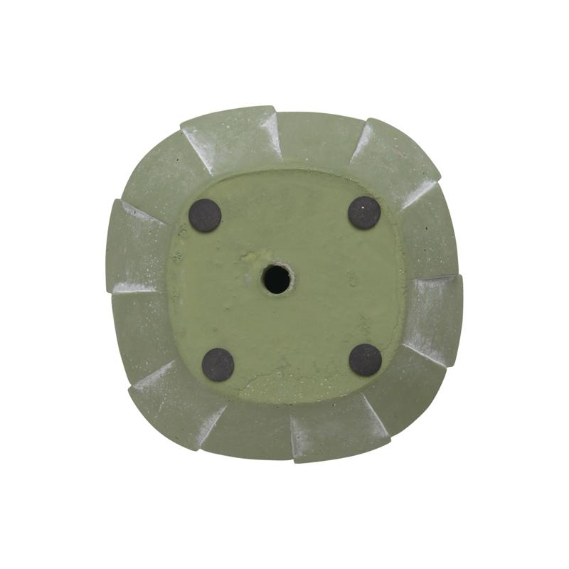 CEMENT PLANTER -ARTDECO- / Green(S)