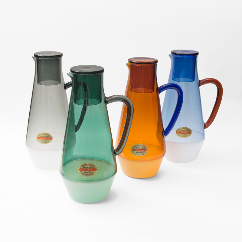TWO TONE CARAFE