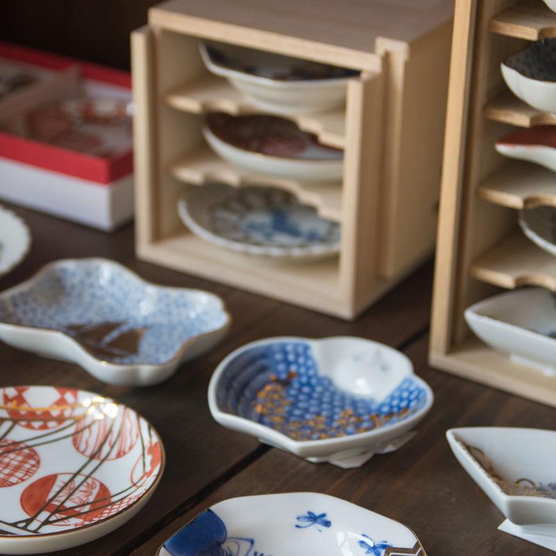 MAME 瑠璃釉亀形皿