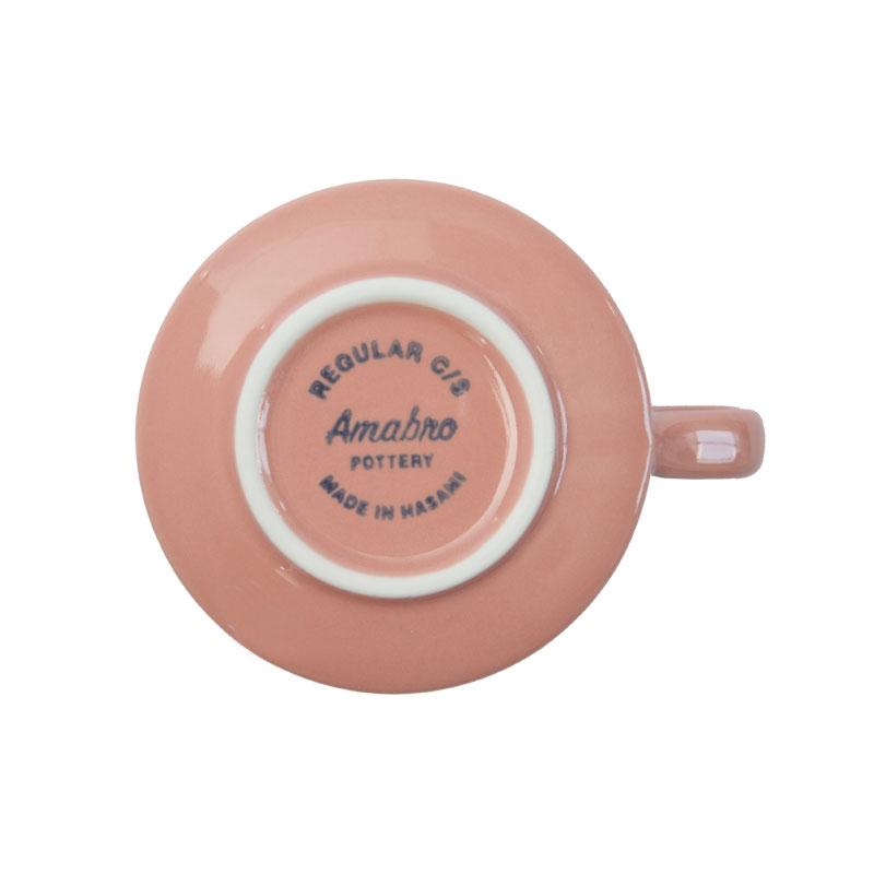 REGULAR CUP&SAUCER / 桃釉