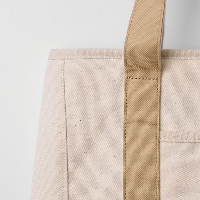 COOLER TOTE BAG / Natural × Beige(L)