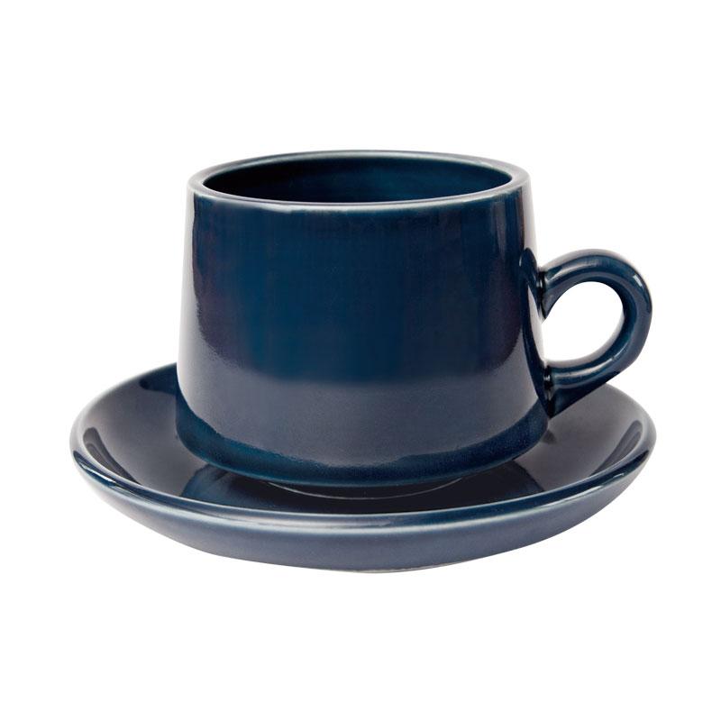 REGULAR CUP&SAUCER / 瑠璃釉