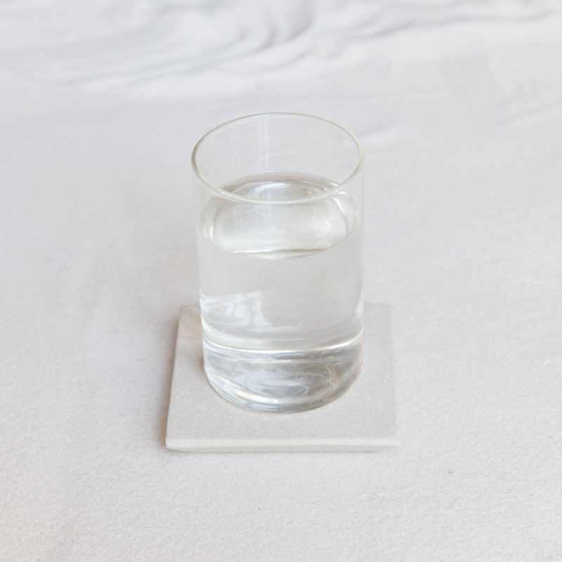 SANDSTONE COASTER / White