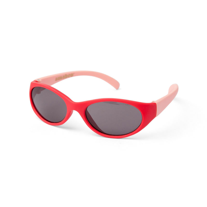 HONEY SUNGLASSES -OVAL- / Red