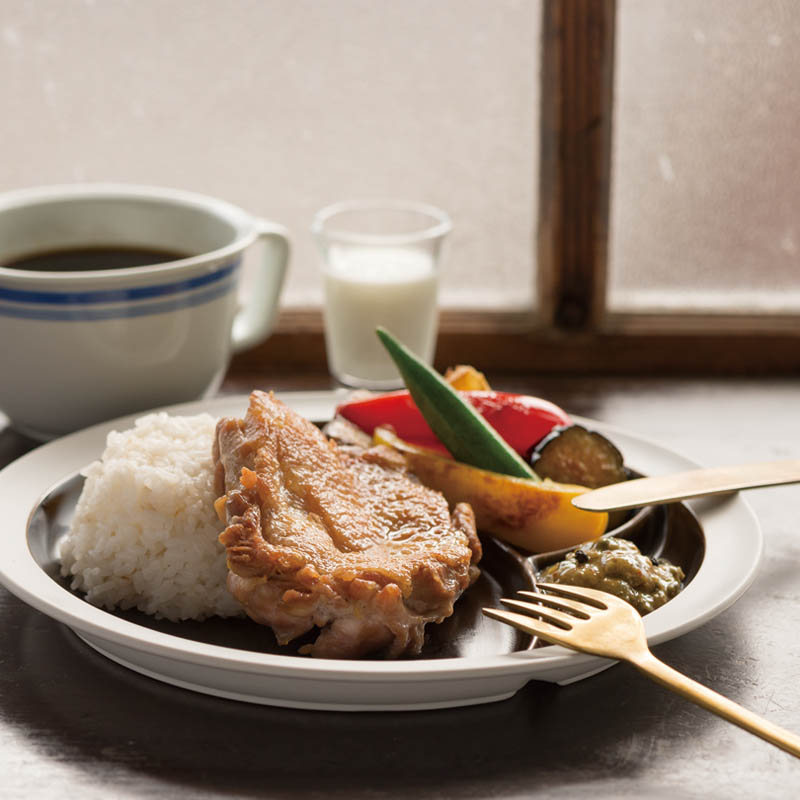 DAYS OF KURAWANKA / 廻り花 - LUNCH PLATE