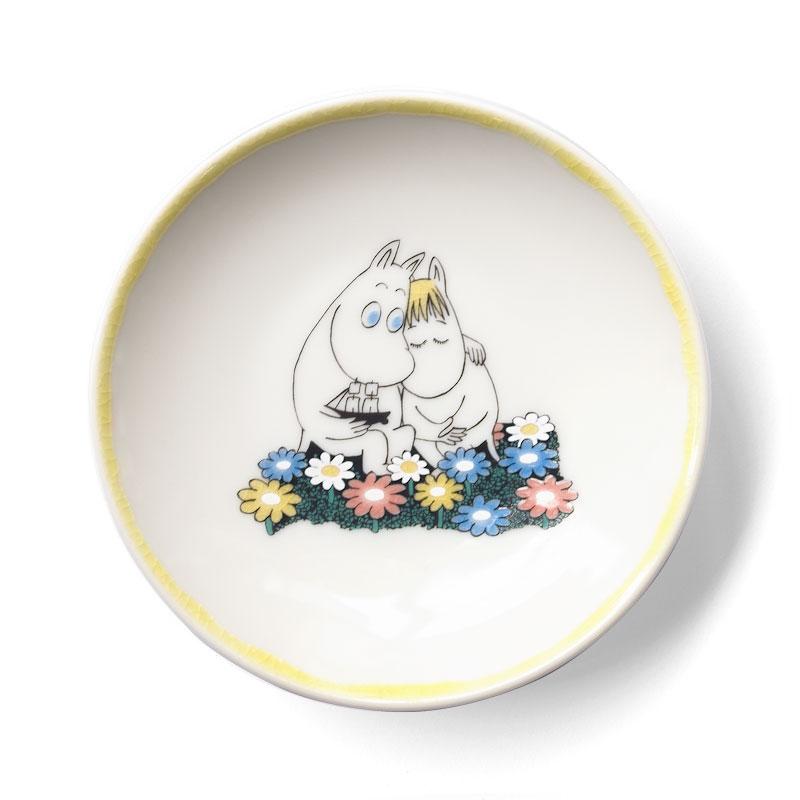 JAPAN KUTANI -手塩皿-(Moomin&Snork)