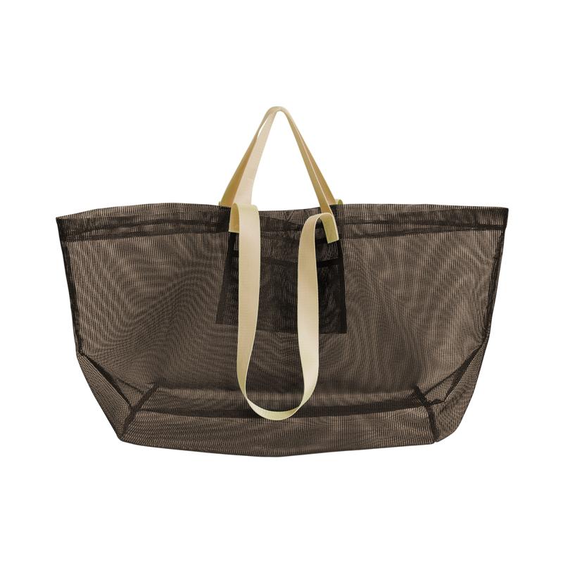 MESH CARRY BAG (Brown)