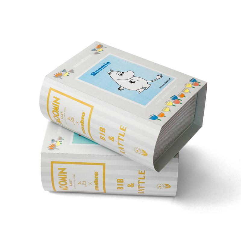 MOOMIN BABY BIB&RATTLE / Moomin