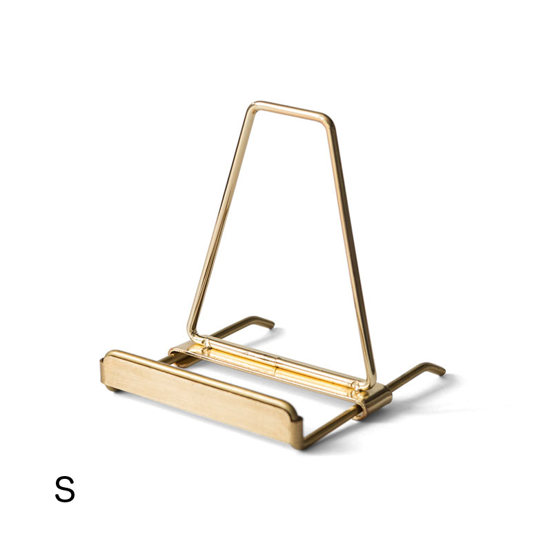 DISPLAY STAND -GOLD-